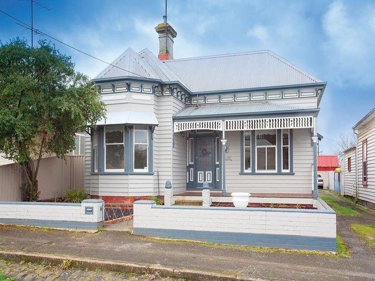 Pale colour house