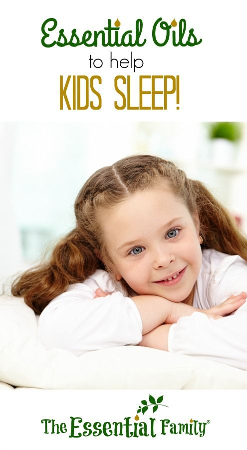 Essential oils are a gentle, natural way to help kids sleep! See some of our favorites!