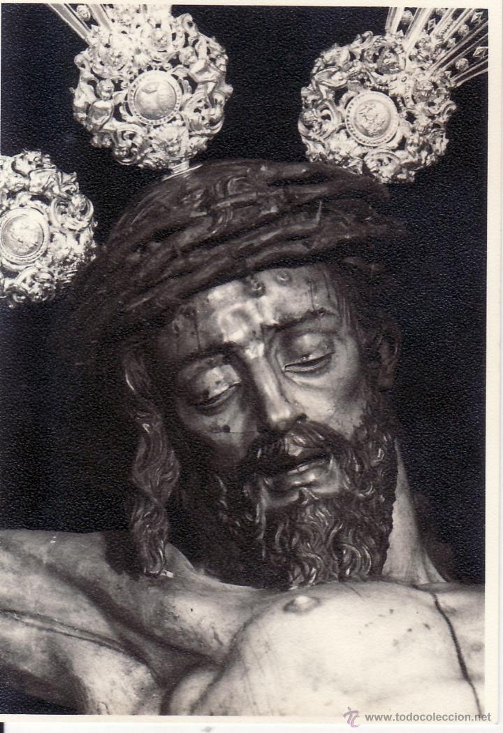 Stmo. Cristo del Calvario, ten piedad y misericordia de mí.  Iglesia Parroquial de Santa María Magdalena de Sevilla.