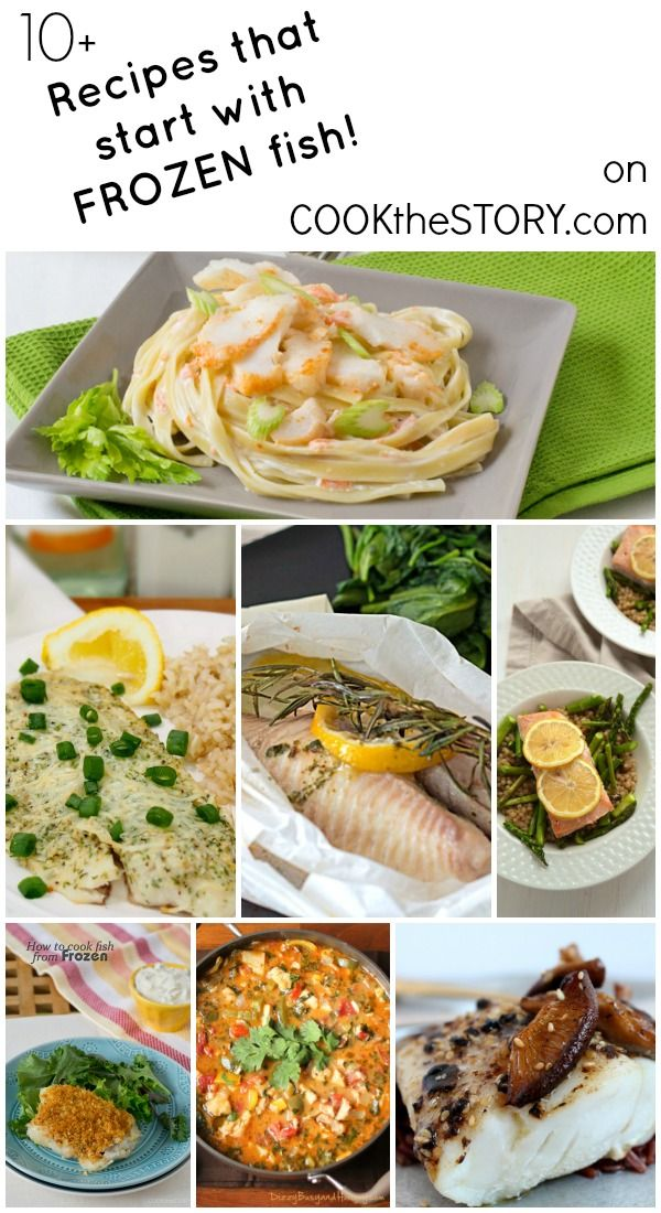 100 frozen fish recipes on pinterest frozen seafood for Fish dishes for dinner