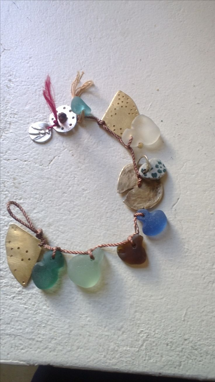 A new piece of jewellry/ the materials to make one: treat to self for reaching 20 finished poems for collection
