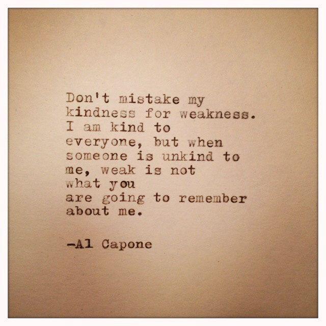 Al Capone Quote Typed on Typewriter by WhiteCellarDoor on Etsy https://www.etsy.com/listing/155050707/al-capone-quote-typed-on-typewriter