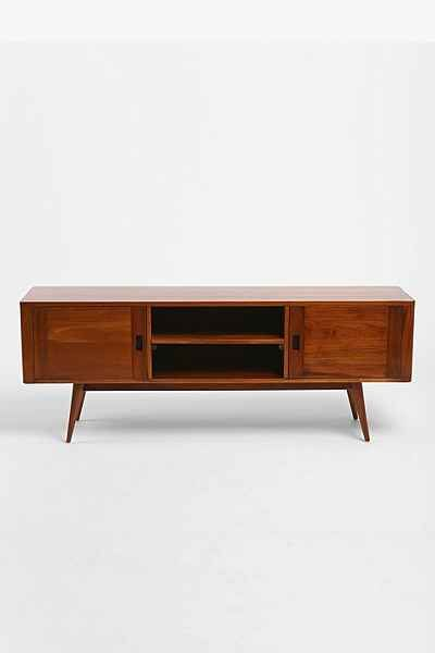 If the TV has to sit on something...Moda Storage Console - Urban Outfitters
