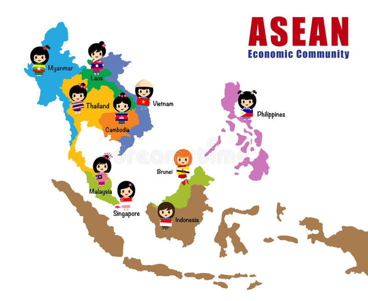 Map Of Asean Aec Cartoon Map Of Asean With Flag Asia Cartoon Girls Aec Ad Aec Cartoon Map Asean Map Cartoon Map Illustrated Map Country Maps
