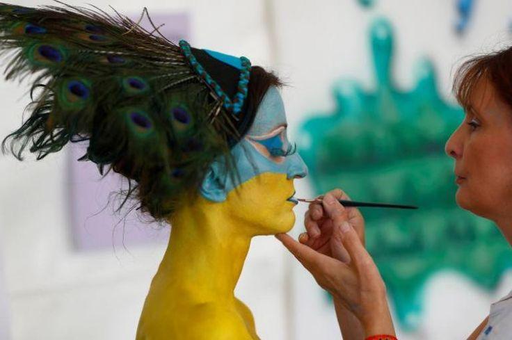 Festival mundial de pintura corporal