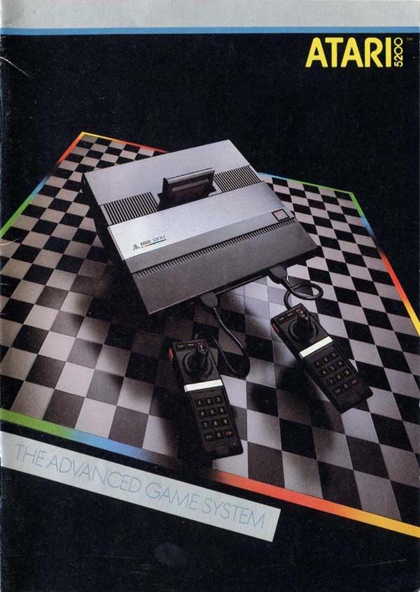 """ATARI 5200. The """"killer"""" video game console of the early 80s. I had one of these. It was """"killer"""". I ♥ 'd it! =)"""
