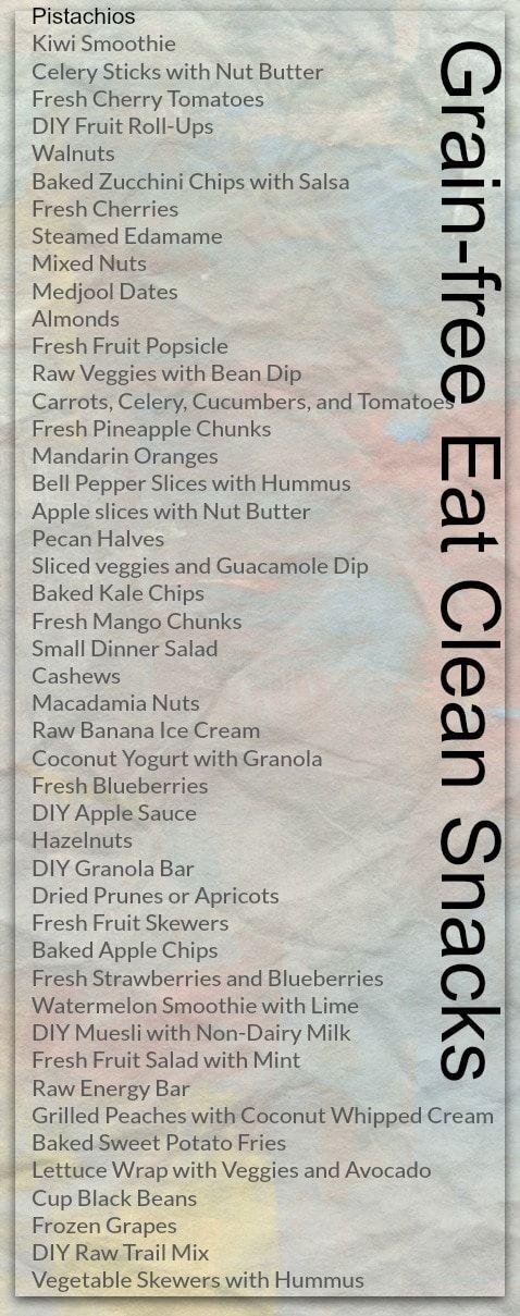 grain-free eat clean snacks, grain-free snacks, eating clean snacks #carbswitch…