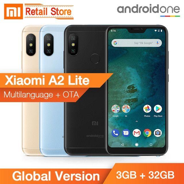 In Stock Global Version Xiaomi Mi A2 Lite 3gb 32gb Snapdragon 625 Octa Core 5 84 Inch 19 9 Full Screen Dual Ai Camera 4000mah Review Xiaomi 32gb Snapdragons