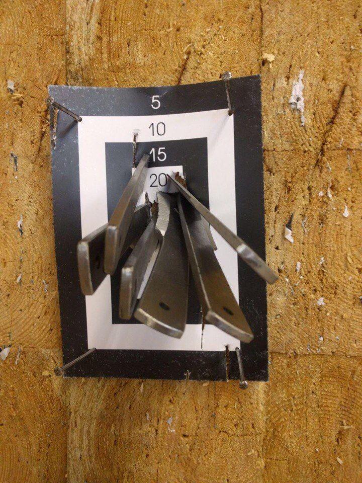 Спортивные метательные ножи Злая Пчела СПб