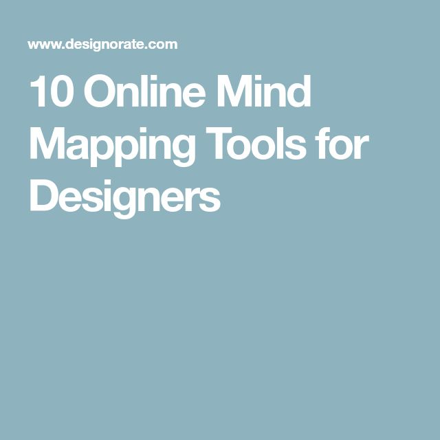 10 Online Mind Mapping Tools for Designers