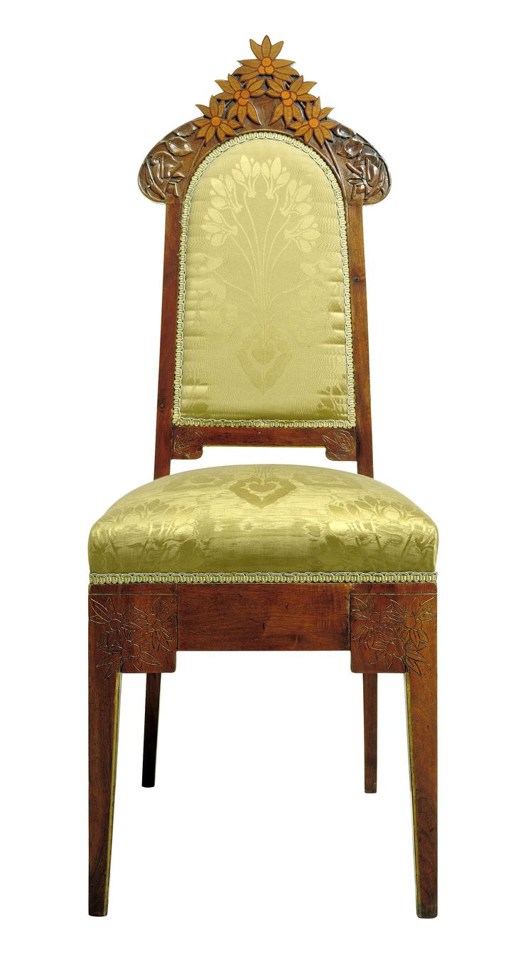 Rare original beech stained chair by eugene gaillard circa 1900 at - Gaspar Homar Upright Chair Forms Part Of The Bedroom Suite Made By Tallers Homar