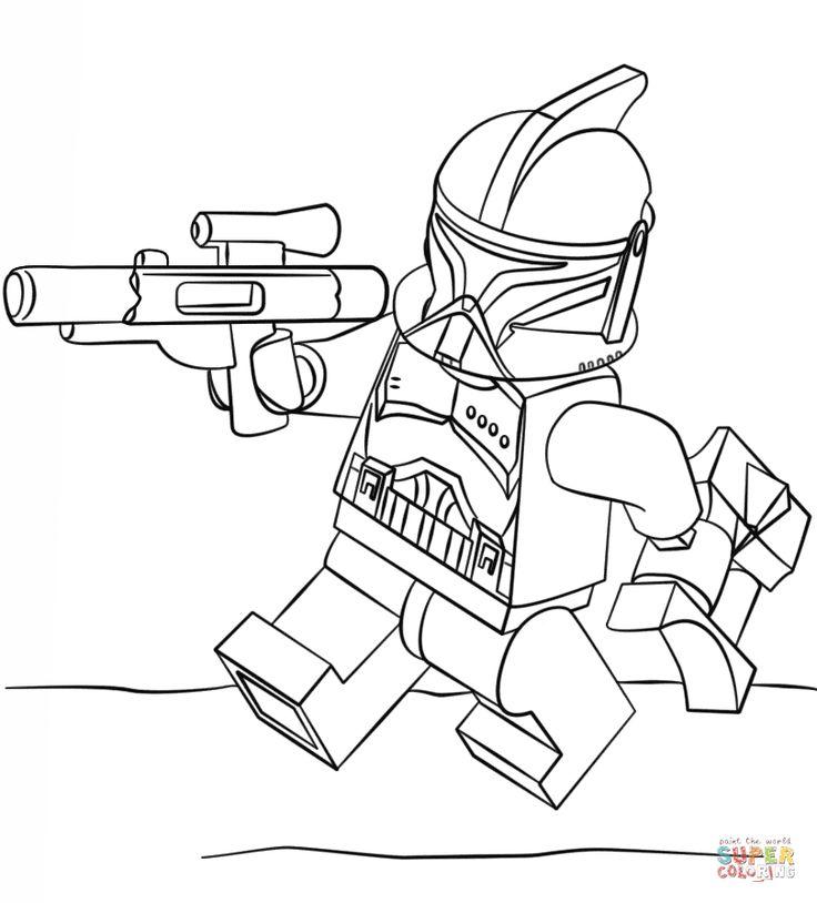 Lego Clone Trooper   Super Coloring
