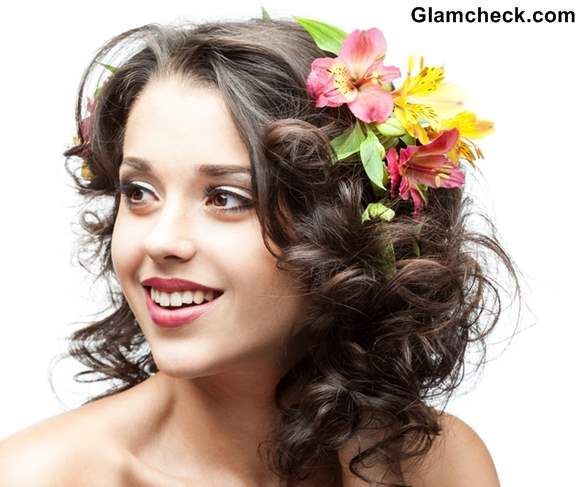 17 best images about flower hairstyles on pinterest flower hairstyles fashion and thanksgiving Outfits for short hair pinterest