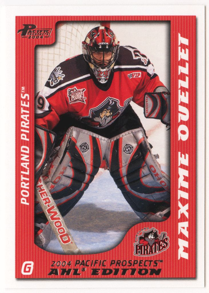 Maxime Ouellet # 66 - 2003-04 Pacific AHL Prospects Hockey