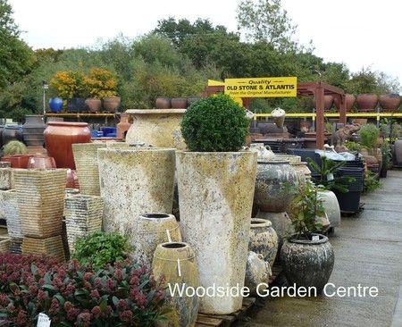 Atlantis Sana Extra Tall Cone Pot Planter | Woodside Garden Centre | Pots  To Inspire