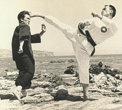 Jhoon Rhee & Bruce Lee