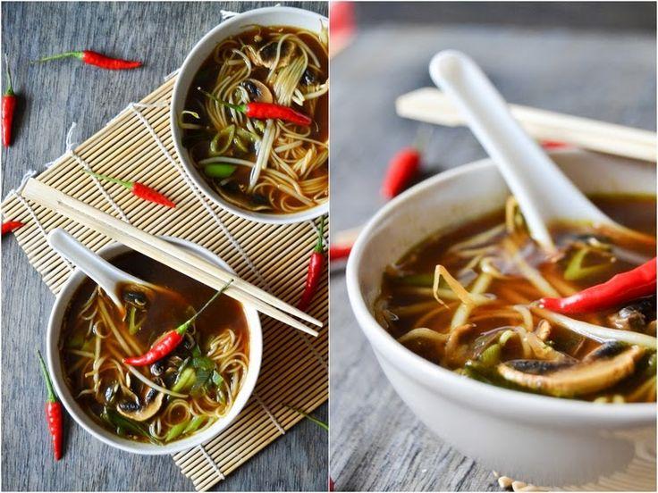 S vášní pro jídlo: Kyselo-pálivá asijská polévka