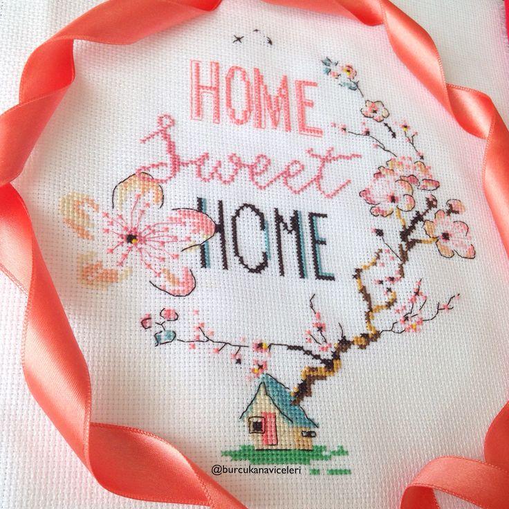 Helene Le Berre / Home Sweet Home Cross Stitch
