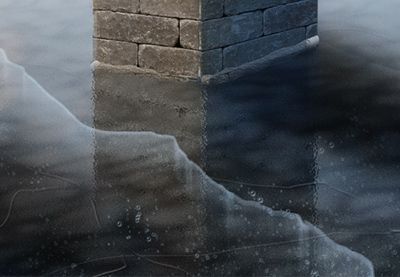 Learn how to create icicles, falling and lying snow, frost, ice, and hail in Adobe Photoshop without carefully painting them. Learn a whole bunch of useful tricks to use for your projects! | Difficulty: Intermediate; Length: Long; Tags: Digital Painting, Adobe Photoshop, Photo Manipulation, Illustration, Seasons, Winter, Textures