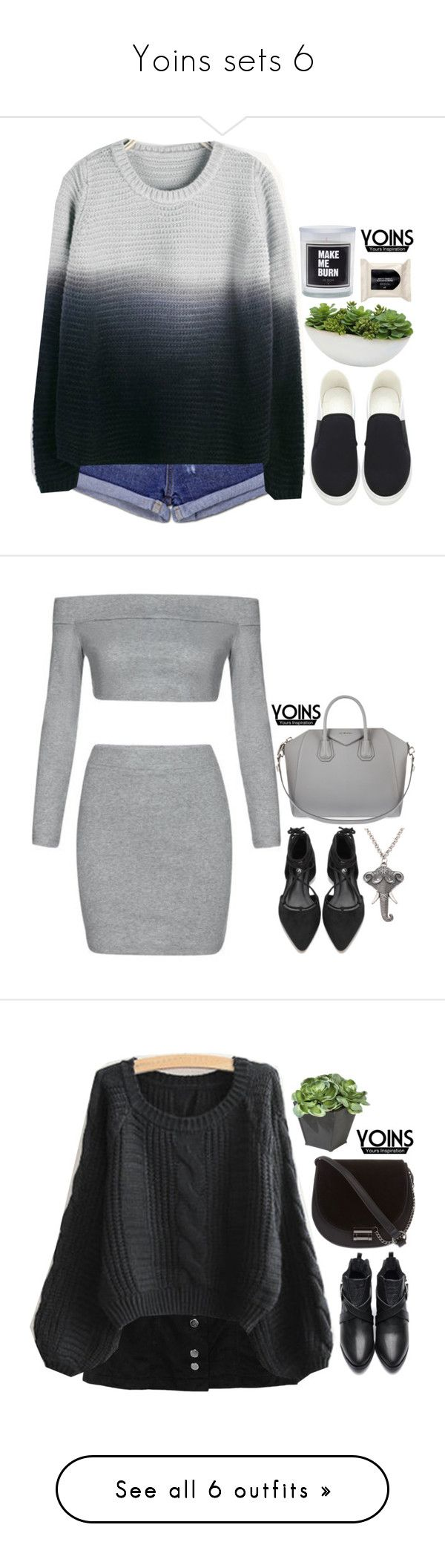 """""""Yoins sets 6"""" by emilypondng ❤ liked on Polyvore featuring Distinctive Designs, H&M, yoins, yoinscollection, loveyoins, Givenchy, Skinnydip, Ethan Allen, Miss Selfridge and Valextra"""