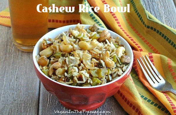Cashew Rice Bowl has an Asian Flare that satisfies your comfort food ...