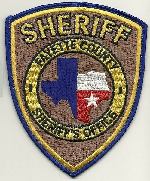 Fayette county Sheriff TX