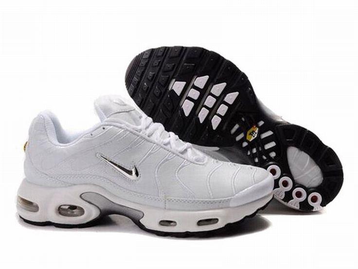 2016 Homme Nike Air Max TN Chaussures Noir/Grise
