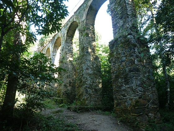 Aqueduct on Ilha Grande