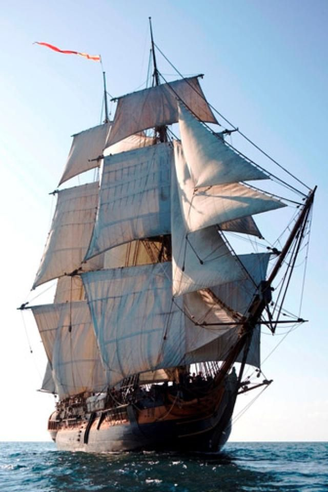 Pirates Ahoy? No, Mostly Teenagers in these Tall Ships off So Cal Shores: The Tall Ship HMS Surprise