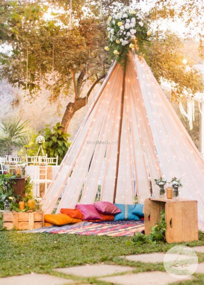 6 New Tent Ideas For Your Mehendi Or Haldi Decor Indian Wedding