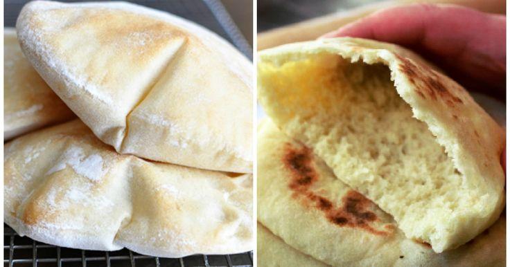 Cómo hacer pan de pita casero