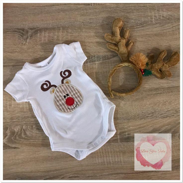 Embroidered Reindeer design