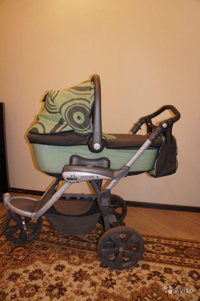 Продам CAM Cortina Evolution x3 Tris 3 в 1 за 9000 руб. http://kovrov.city/wboard-view-3091.html  Трехколесная коляска 3 в 1(люлька, прогулочный блок, авто-кресло до 13 кг), Италия. Легкая в управлении, большие проходимые колеса, все детали съемные, можно стирать, цвет универсальный - подойдет мальчику и девочке.Люлька - встроенная москитная сетка, вентиляция на капюшоне, дно коляски регулируется по высоте, когда ребенок начинает приподниматься, но ещё не сидит.Прогулочный блок - возможность…