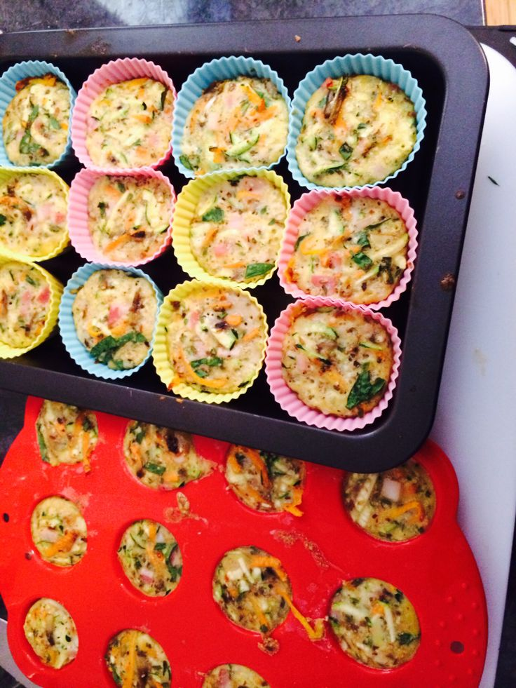 Anytime of the day muffins. Full of vegetables with egg and almond meal. The addition of YIAH Tuscan capsicum pesto dip mix and country onion and chive dip mix is just perfect