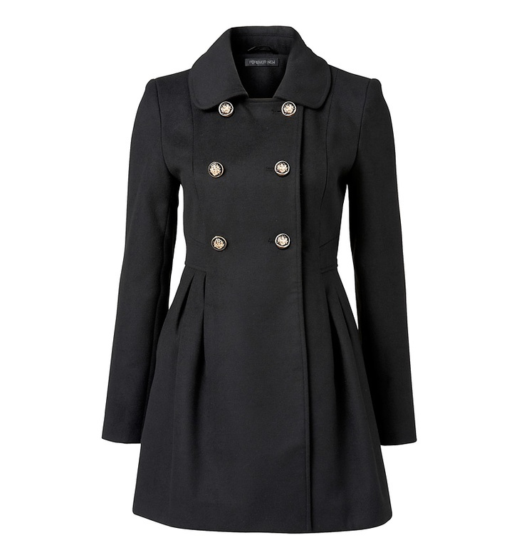 Danielle Double Breasted Coat - Forever New