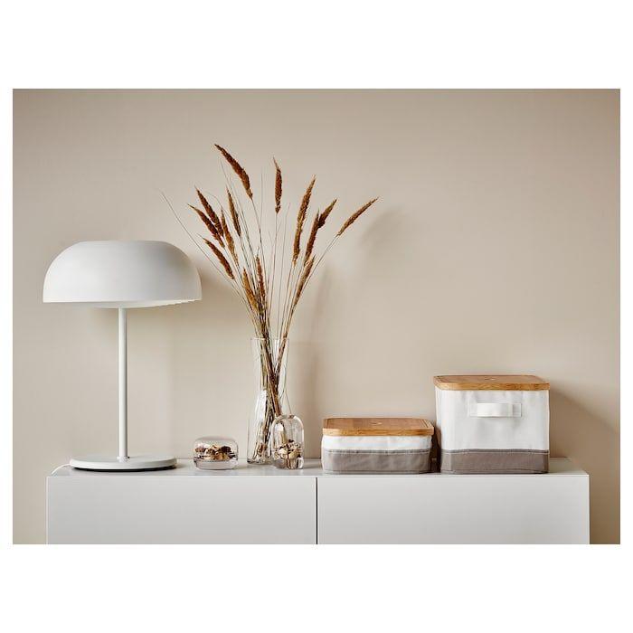 NYMÅNE Bordslampa vit i 2020   Bordslampor, Möbler och Ikea