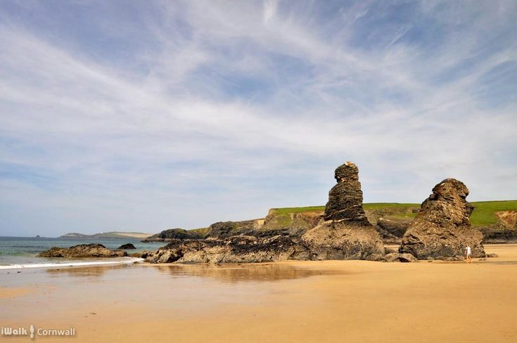 A circular walk between Constantine Bay to Porthcothan via nature's swimming pool at Treyarnon beach and a spectacular series of islands, headlands and tiny coves named after wine and pepper smuggled there, and the rock where a customs officer was left by smugglers to drown.