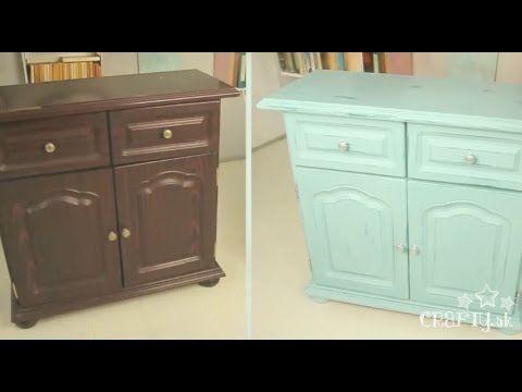 Pentart Dekor Paint- vintage rekonštrukcia starého nábytku