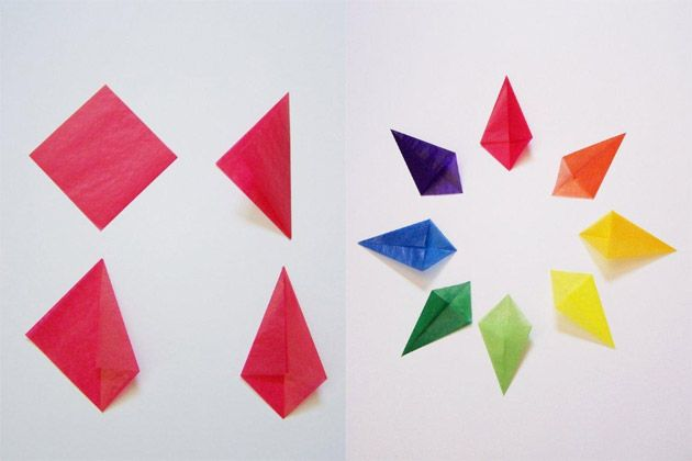 Crafts for Kids: Kite Paper Stars » Playful Learning