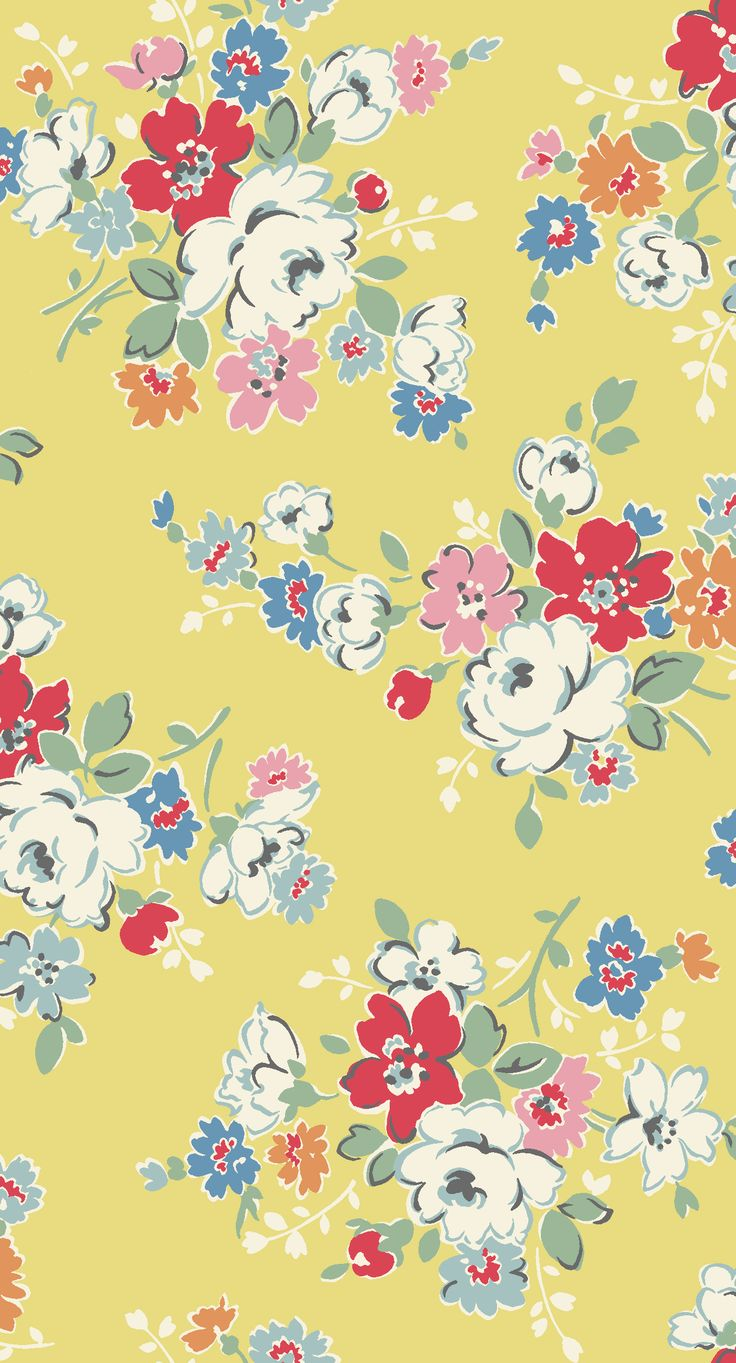Clifton Rose Yellow, Cath Kidston