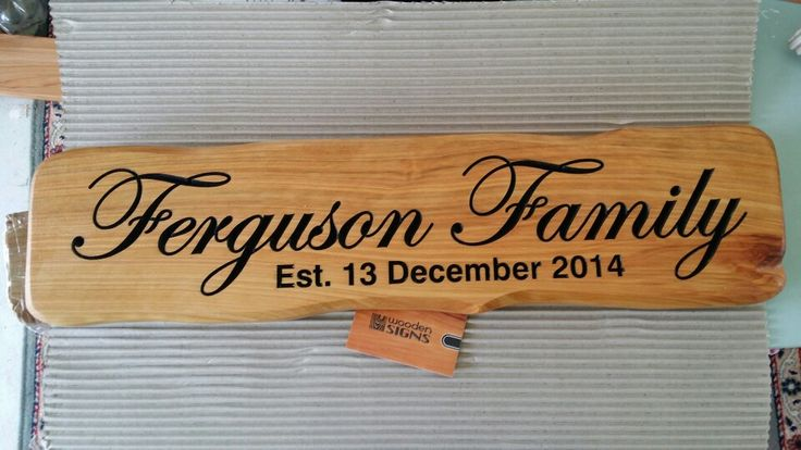 Wooden wedding memorial wooden sign from woodensigns.co.nz