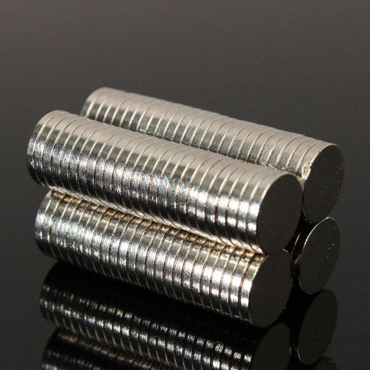 100 pcs 10x1.5mm Neodymium Disc Super Strong Rare Earth Magnet Kulkas HH3