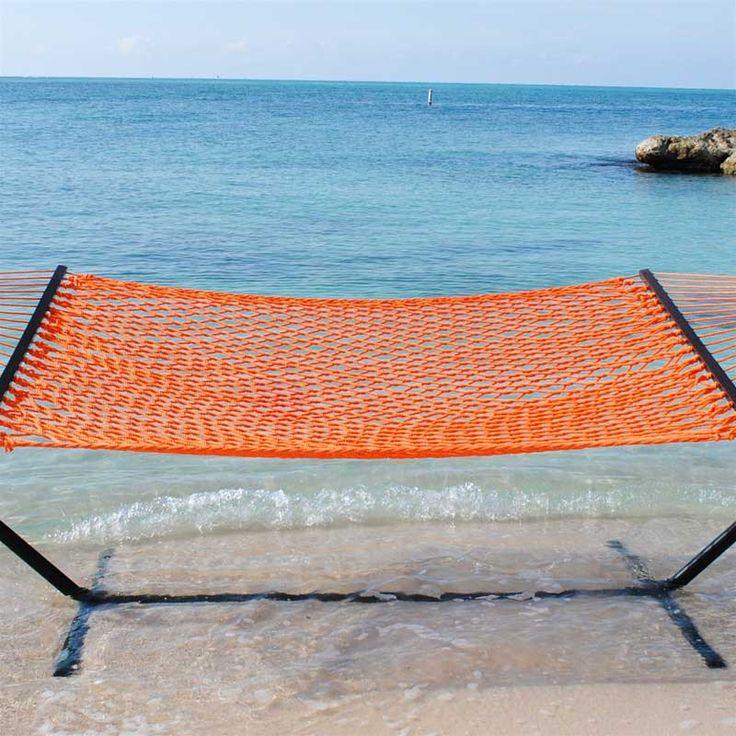 http://www.ireado.com/unique-hammocks-for-sale/?preview=true Unique HAMMOCKS For Sale! : Caribbean Rope Hammock Orange Hammocks For Sale