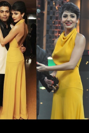 Anushka Sharma at Filmfare Awards 2013 in Victoria Beckham