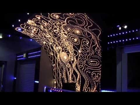 LEDs - wall decorations - wall lighting - fiber - decorative lighting - LED RGB