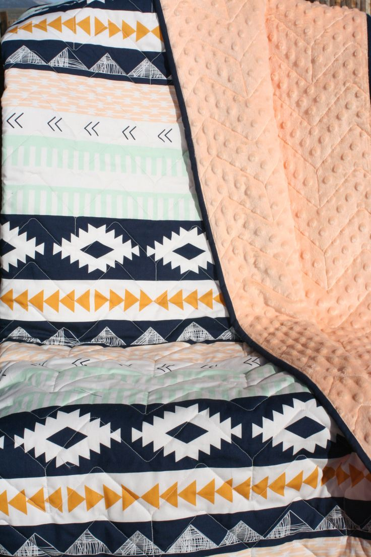 best baby blankets images on pinterest  baby blankets baby  - aztec  woodland nursery theme (grow with me) nectar minky blanket is amust have for the modern mommy  her precious little one super soft