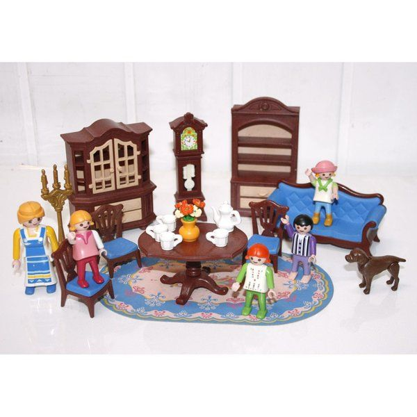 38 best playmobil images on pinterest for Salle a manger playmobil