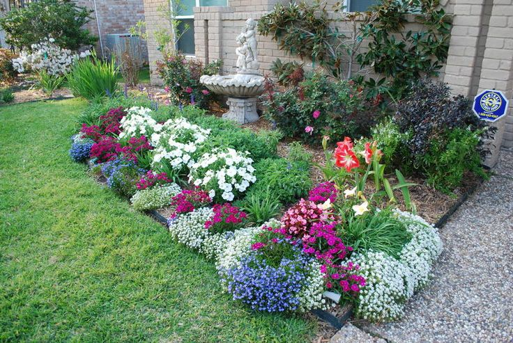 Beautiful flower bed landscaping and gardening pinterest for Beautiful flower beds