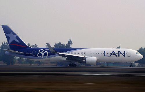 LAN BOEING 767-300 | SCL / LAN Airlines | Juan Pablo Arias | Flickr