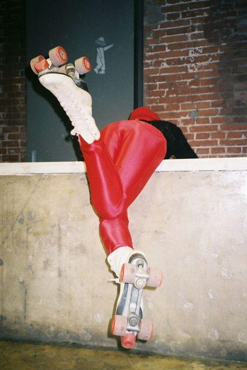 Disco pant. Shot by Effy Liu.